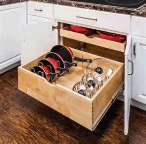 peg board pot and pan organizer stainless steel lid
