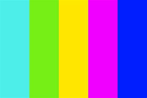 color neon neon colors color palette