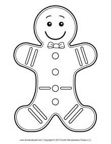 clipart of a gingerbread man outline cliparts co