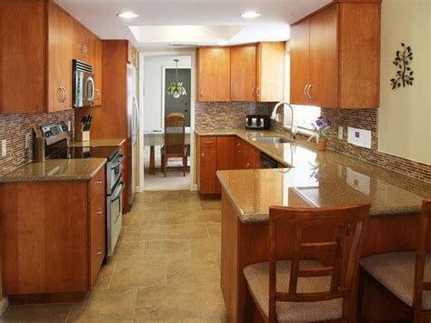 ideas for small galley kitchens ideas to remodel a small galley kitchen small galley