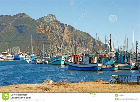 small fishing boats south africa fishing boats cape town south africa royalty free stock