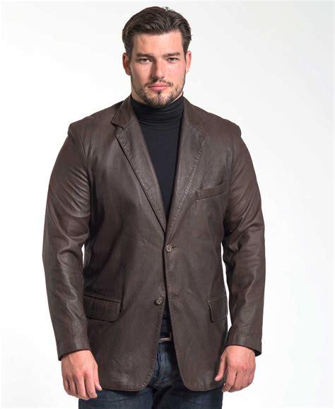 Kmj Zacky Pjg Navy 1 chocolate leather jacket