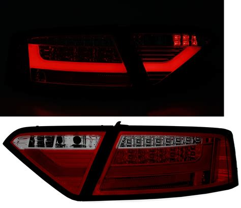Audi A5 R Ckleuchten by Led R 252 Ckleuchten F 252 R Audi A5 In Rot Smoke Ad Tuning
