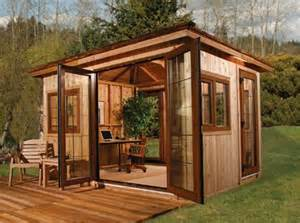 Outside Offices Sheds by 120 Sq Ft Diy Shed Office For 13 000 Tiny Houses