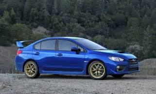 Subaru Impreza Sti 2015 2015 Subaru Wrx Sti Official Images Surface