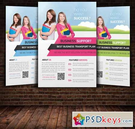 education flyer template 250191 187 free download photoshop