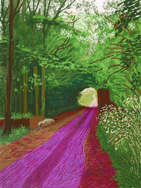 david hockney exhibition david hockney current at ngv international melbourne art blart