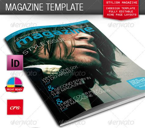 photoshop magazine template 25 photoshop indesign magazine cover templates idesignow