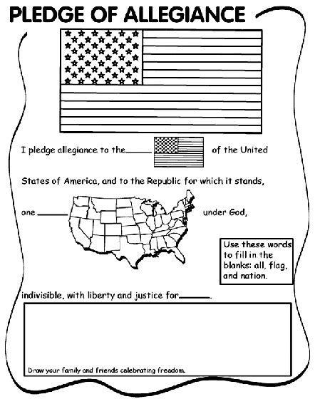american flag coloring page for first grade pledge of allegiance coloring page crayola com
