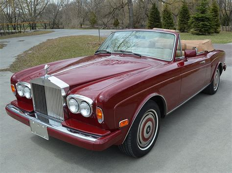 rolls royce corniche convertible 1986 rolls royce corniche convertible notoriousluxury