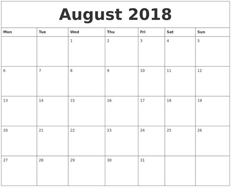 printable calendar july august 2018 july 2018 calendar cute printable 2017 calendars
