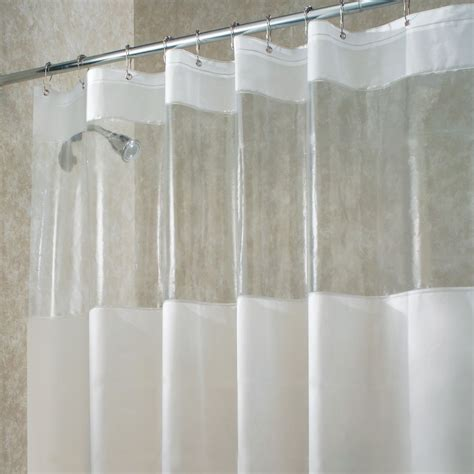 plastic shower curtains clear vinyl shower curtains