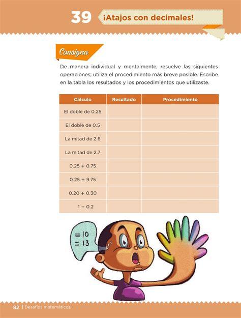 libro de desafios matematicos pagina 134 y 135 de sexto pagina 134 y 135 de desafios matematicos 2015 2016 6 grado