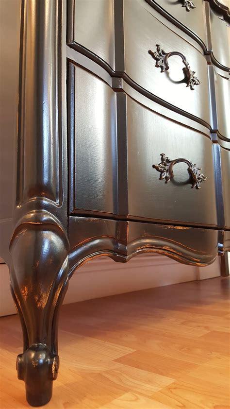 Dresser in Lamp Black   General Finishes Design Center