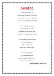 poemas de la amistad cortos poemas de autor s 233 ptimo a 241 o