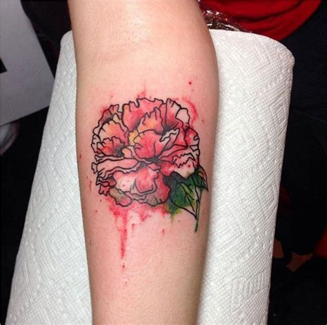 carnations tattoo carnation tattoos tattoofanblog