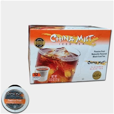 fruity k cups china mist fruit iced black tea k cups