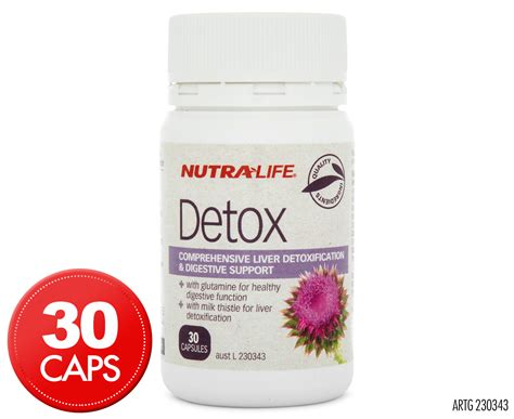 Nutra Cleanse 3 Day Detox by Nutra Detox 30 Caps Groceryrun Au Groceries