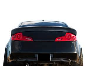 Infiniti G35 Coupe Accessories 2003 2007 Infiniti G Coupe G35 Duraflex Downforce Spoiler