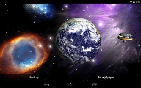 3d live wallpapers best space live wallpapers android live wallpaper