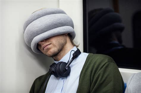 ostrich pillow light the green