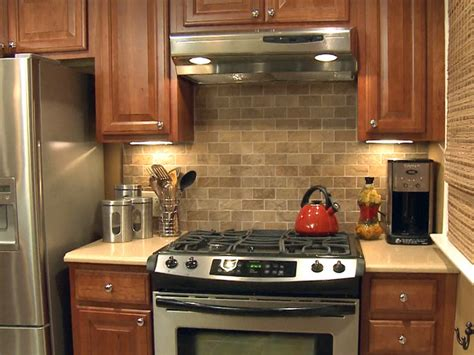 tile backsplashes for kitchens install a tile backsplash how tos diy