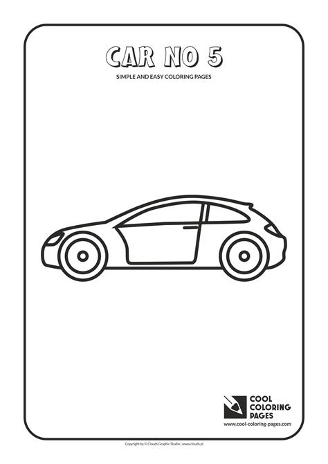 simple car coloring pages sketch coloring page