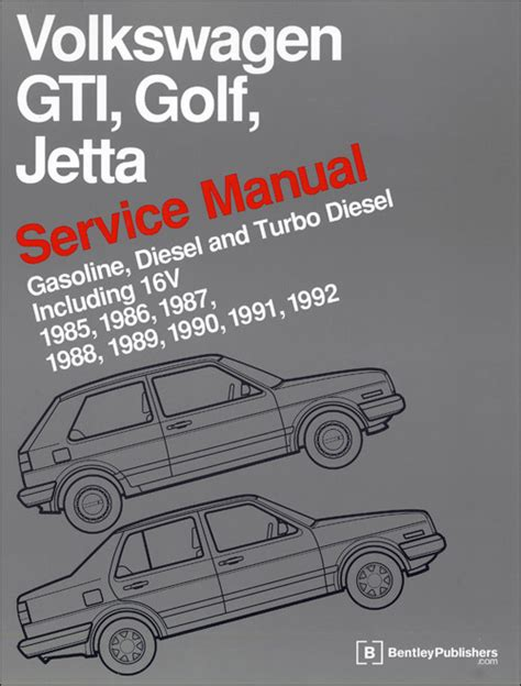 front cover vw volkswagen fox service manual 1987 1993 bentley publishers repair front cover vw volkswagen repair manual gti golf jetta 1985 1992 bentley publishers