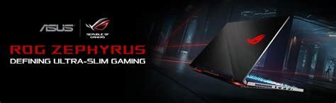 Asus Rog Zephyrus Gx501vi Gz001t I7 7700hq 512gb Ssd asus rog zephyrus gx501vi gz030t 15 6 quot i7 7700hq with max q gaming laptop lazada singapore