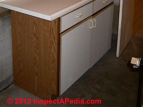 particle board cabinet doors defects in kitchen or bathroom cabinets countertops