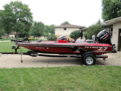 used nitro z7 bass boats for sale tracker nitro z7 2013 for sale for 21 900 boats from