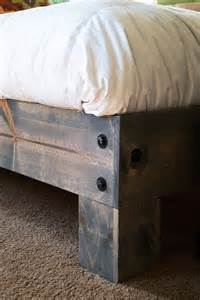 Build Your Own Queen Size Platform Bed Frame by Diy Platform Bed Amp Salvaged Door Headboard Part One Averie Lane Diy Platform Bed Amp Salvaged