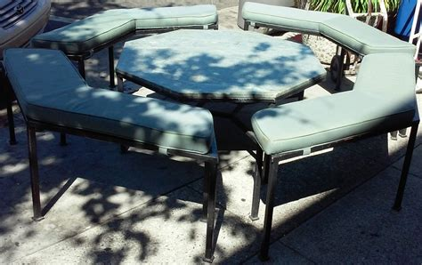 stone top benches uhuru furniture collectibles sold reduced vintage