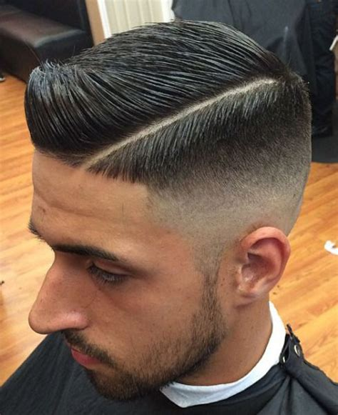 hair part with a line haircuts retro and cleanses on pinterest