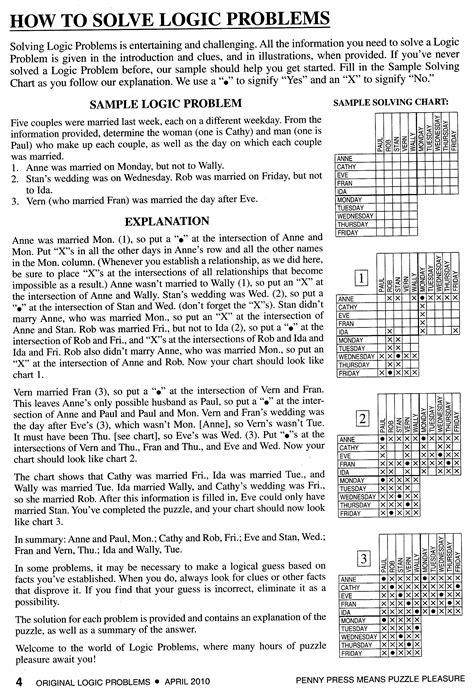 printable math logic puzzles 6th grade sixth grade math logic problems vinadiamonds com