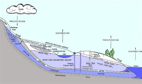 aquifer diagram artesian well diagram wiring diagram