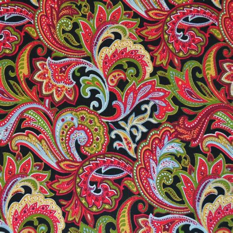 paisley upholstery fabric uk red paisley print fabric cotton print fabric calico laine