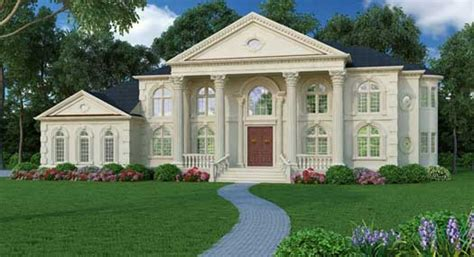 georgian style home plans georgian style house plans 5699 square foot home 2