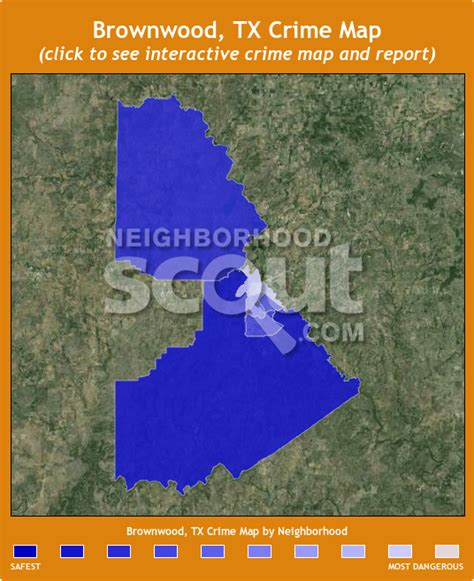 where is brownwood texas on the map brownwood crime rates and statistics neighborhoodscout