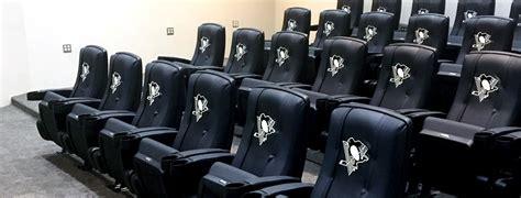 pittsburgh penguins recliner customized stadium furniture custom sports furniture