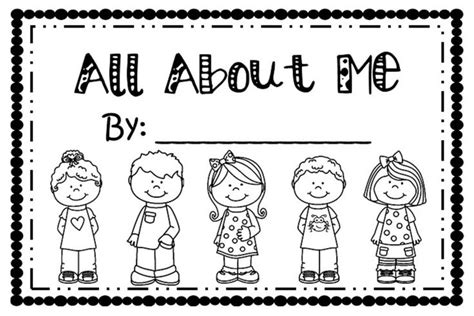 all about me picture books pre k and kindergarten all about me book