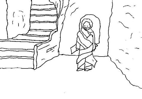 coloring pages of jesus and lazarus free coloring pages of lazarus raised