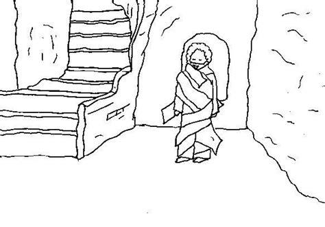 coloring pages jesus raises lazarus free coloring pages of jesus raises lazarus