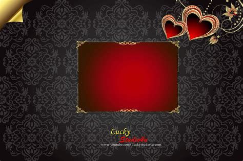 Wedding Album Front Page Design Psd by Wedding Album Cover Page Design Psd Free Vol 01