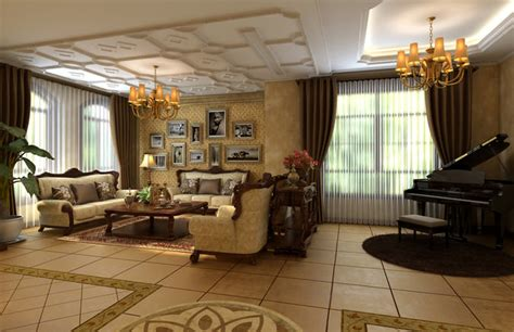 royal living room royal living room with piano 3d model cgtrader