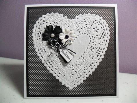 Handmade Wedding Cards Etsy - handmade wedding card doily card doilies