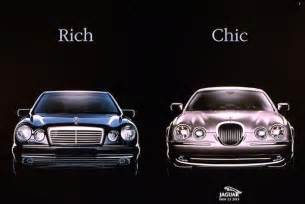 Jaguar Ads Rich Chic Jaguar Print Ad Wheely Things