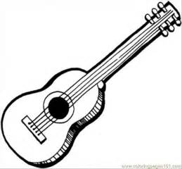 guitar coloring pages coloring pages acoustic guitar entertainment