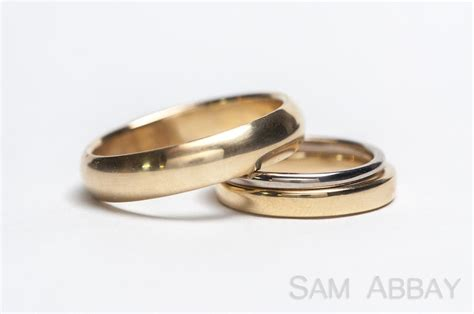 Wedding Rings On by Simple Bands New York Wedding Ring