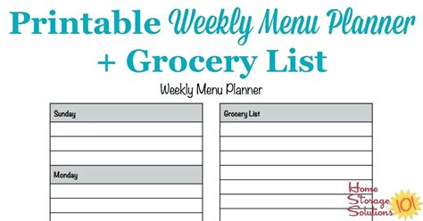 menu planning template with grocery list meal planner template with grocery list tailoredswift co